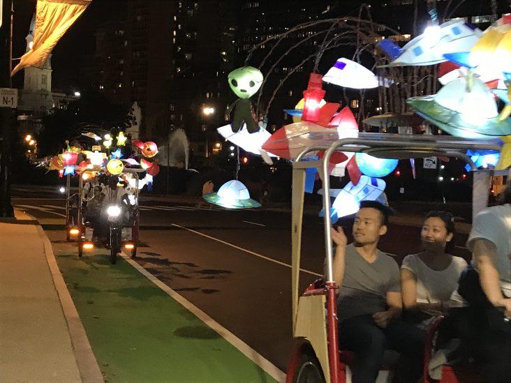 Fireflies experience